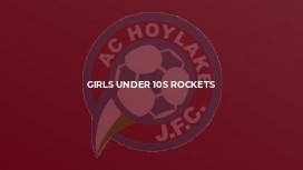 Girls Under 10s Rockets