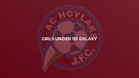 Girls Under 11s Galaxy
