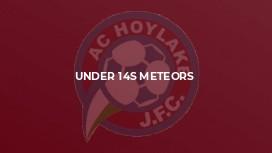 Under 14s Meteors