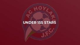 Under 15s Stars