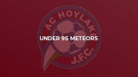 Under 9s Meteors
