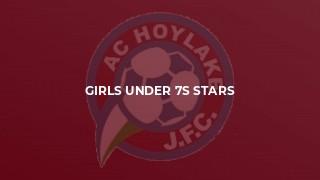 Girls Under 7s Stars