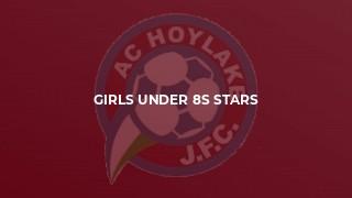 Girls Under 8s Stars
