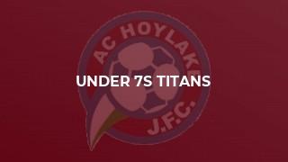 Under 7s Titans