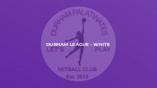 Durham League - White