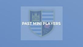Past Mini Players