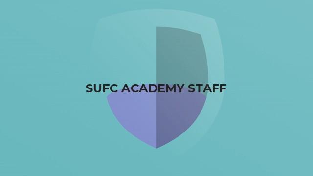 SUFC ACADEMY STAFF