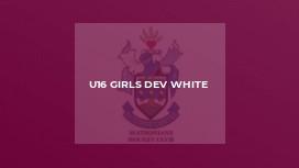 U16 Girls Dev White