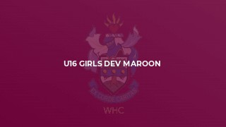 U16 Girls Dev Maroon