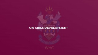 U16 Girls Development