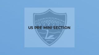 U5 Pre Mini Section
