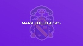 Marr College S1's