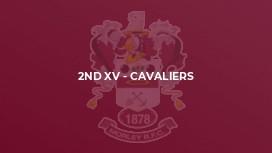 2nd XV - Cavaliers