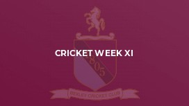 Cricket Week XI