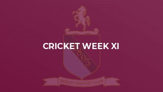 Cricket Week XI