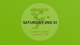 Saturday 2nd XI