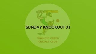 Sunday Knockout XI