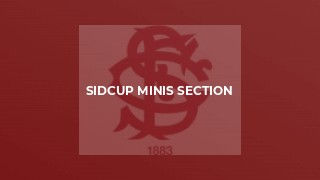 Sidcup Minis Section