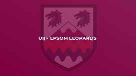 U11 - Epsom Leopards