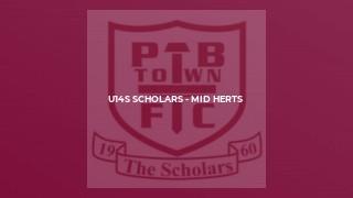 U14s Scholars - Mid Herts
