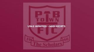 U14s Whites - Mid Herts