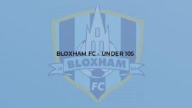 Bloxham FC - Under 10s