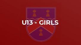 U13 - Girls