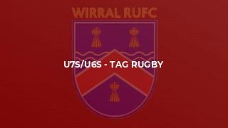 U7s/U6s - Tag rugby
