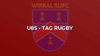 U8s - Tag rugby