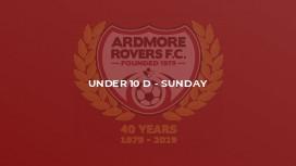 Under 10 D - Sunday