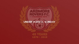 Under 14 Div 2 - Sunday