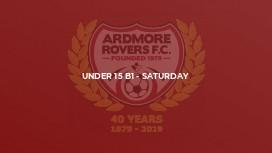 Under 15 B1 - Saturday