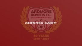 Under 15 Prem2 - Saturday
