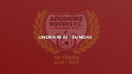 Under 16 A1 - Sunday