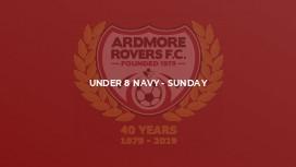 Under 8 Navy - Sunday
