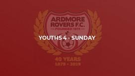 Youths 4 - Sunday