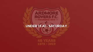 Under 13 A1 - Saturday