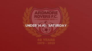 Under 14 A1 - Saturday