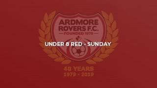 Under 8 Red - Sunday