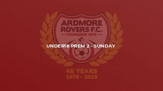 Under18 Prem 2 - Sunday