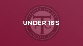 Tansley JFC Under 16's