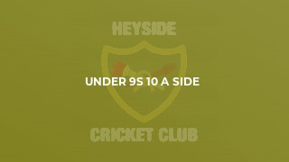 Under 9s 10 a side