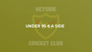 Under 9s 6 a Side