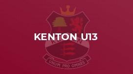 Kenton U13