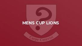 Mens Cup Lions