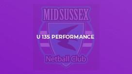 U 13s Performance