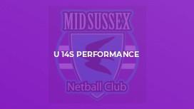 U 14s Performance