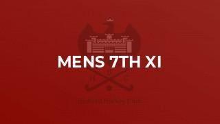 Mens 7th XI