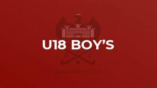 U18 Boy's