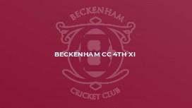 Beckenham CC 4th XI